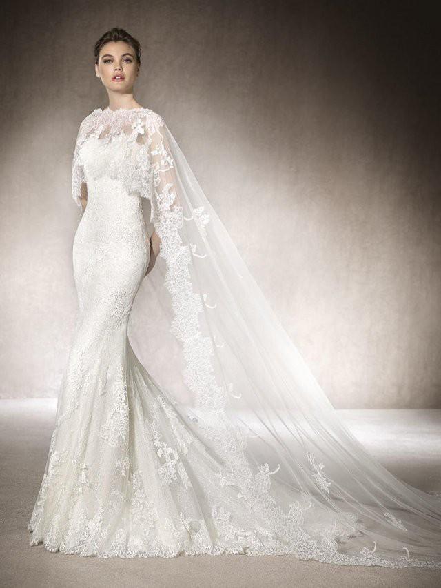 St. Patrick Maria dress + Cape New Wedding Dress Save 51% ...