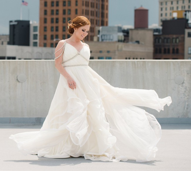 Hayley Paige 6450/Luca Gown