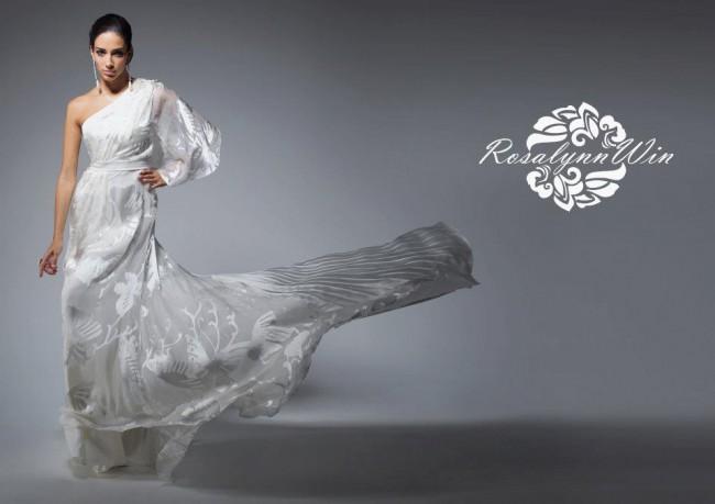 Rosalynn Win Haute Couture, Kinnari gown