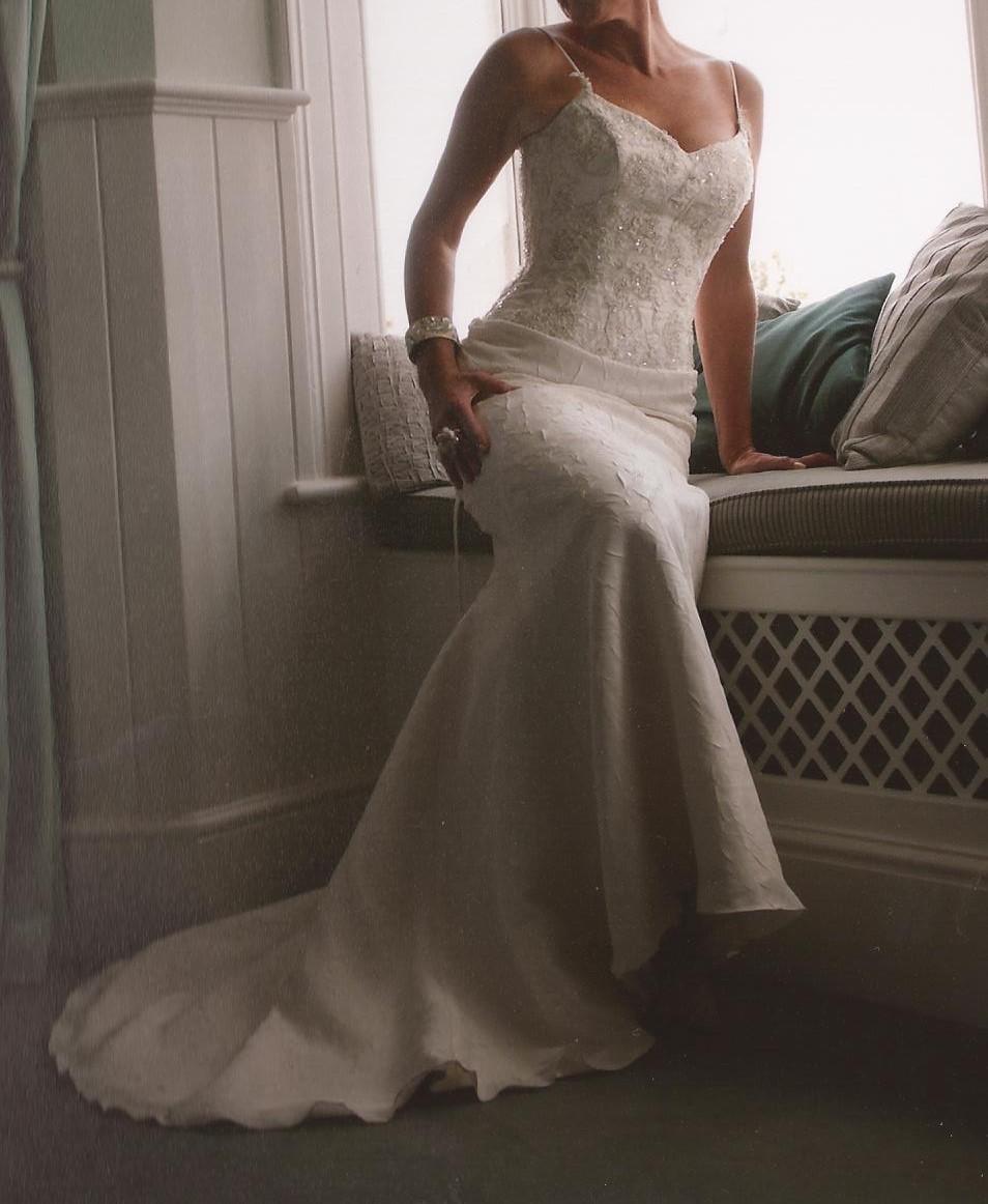 Maggie Sottero #J1041 Second Hand Wedding Dress On Sale 80