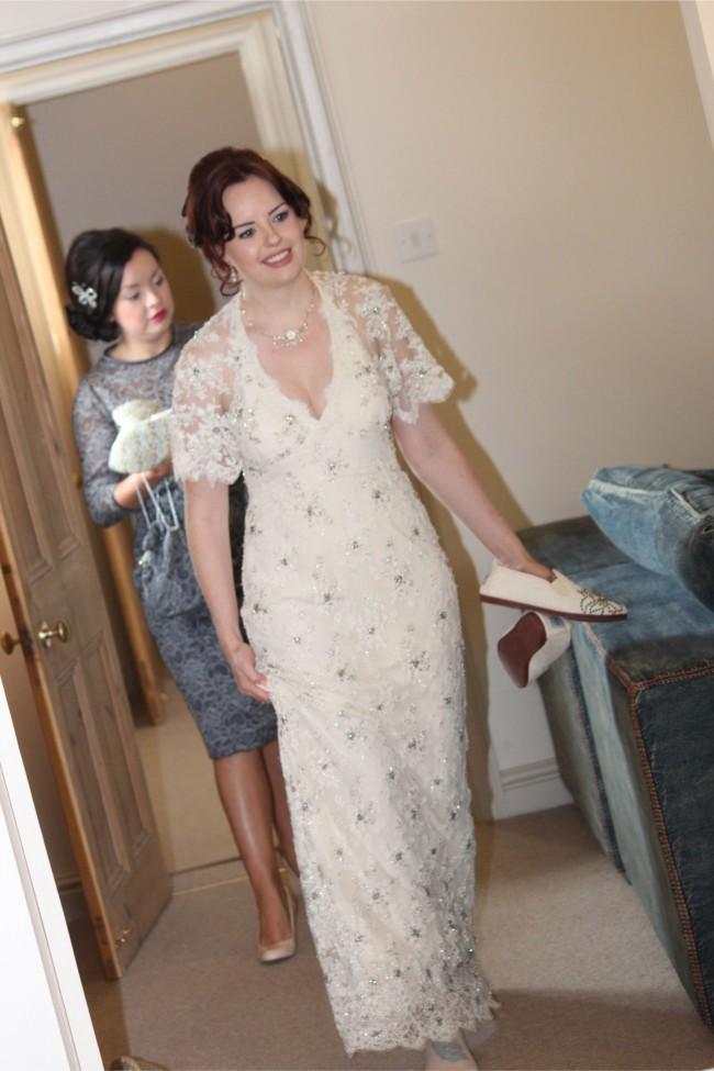 Temperley London Cape Dress