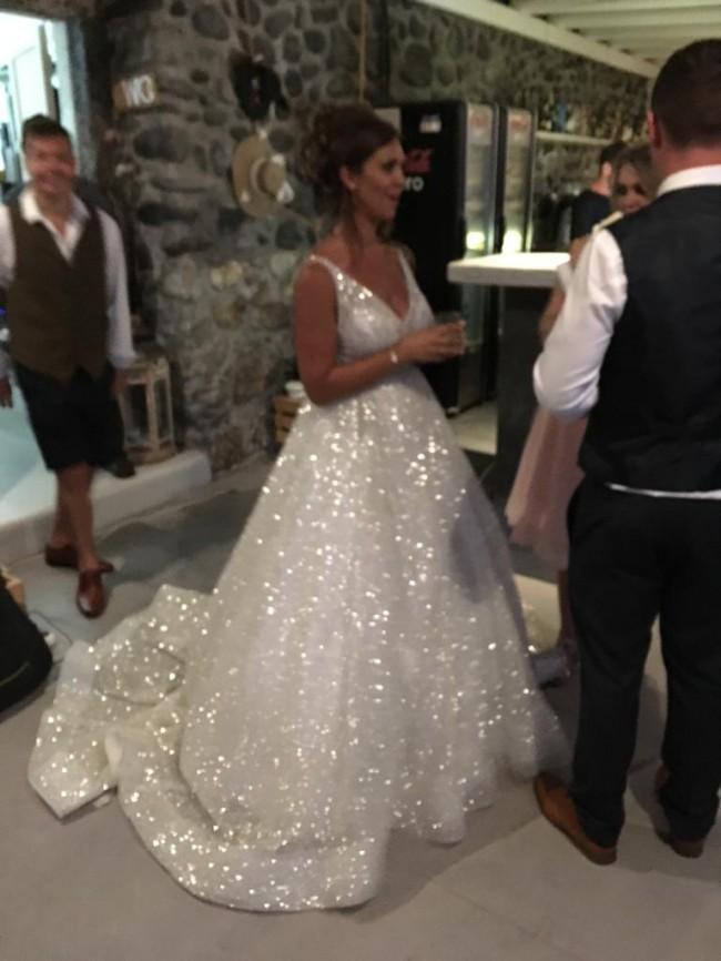 c958a699e91 Lazaro 3662 Second Hand Wedding Dress on Sale 49% Off - Stillwhite ...
