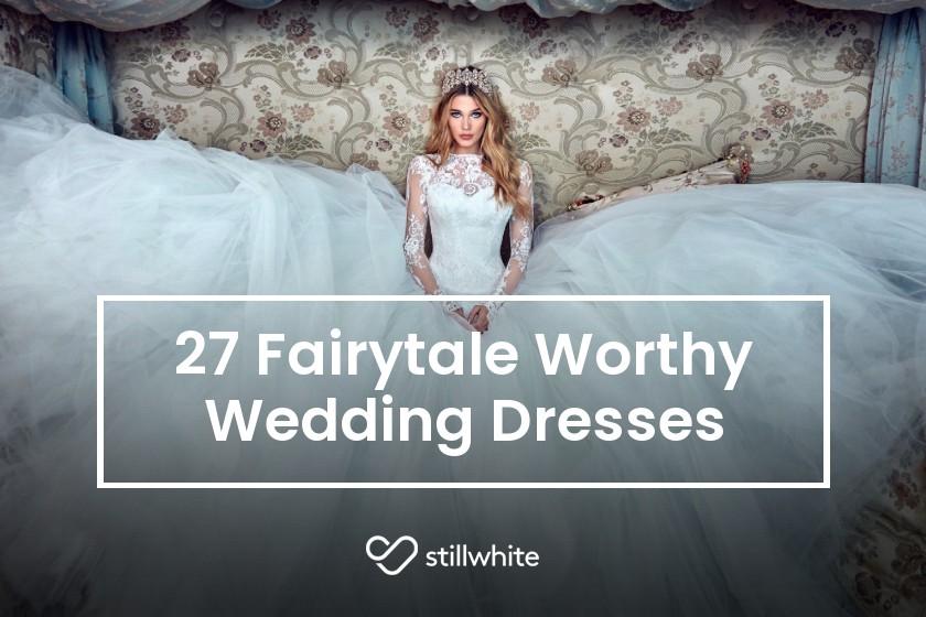 5bc6d0e2d8629 27 Fairytale Worthy Wedding Dresses - The Stillwhite Blog - Stillwhite